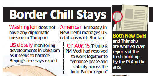 India, US boost ties as China puts on boots near Doklam