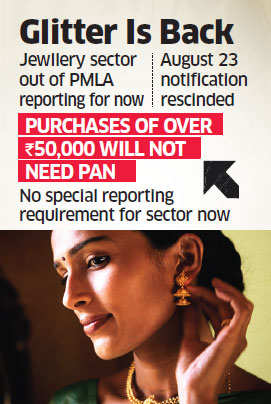 Now no PAN card required for jewellery purchase of over Rs 50,000