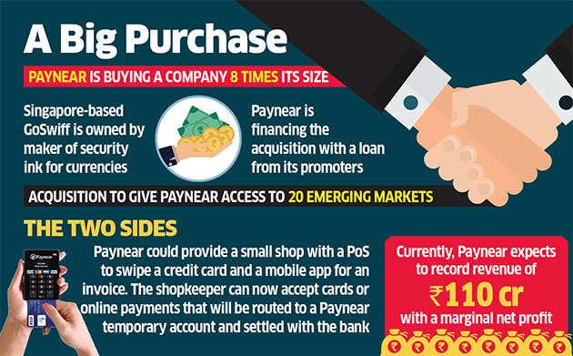 Paynear to buy GoSwiff for $100 million