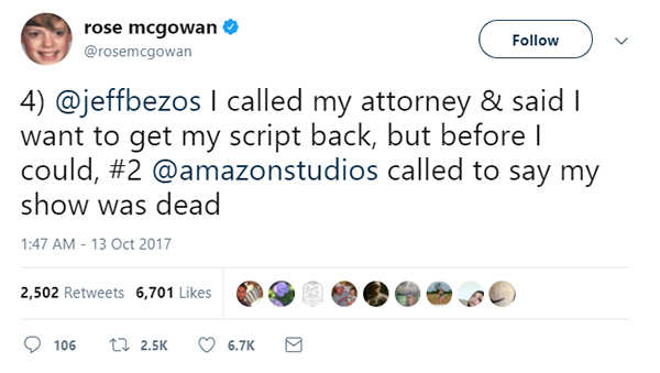 Amazon Studios boss Roy Price suspended following harassment allegation