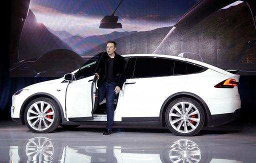 Tesla recalls 11,000 Model X SUVs for seat fix