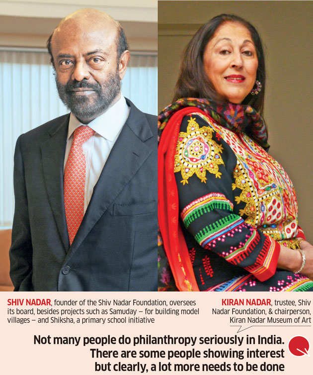 Corporate philanthropy: Inside Shiv Nadars' world of good
