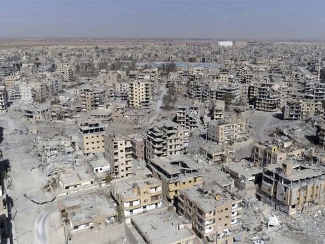 US-backed Syrian force declare victory over IS in Raqqa