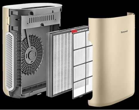 The Honeywell Air Touch i8 air purifier helps you breathe clean, fresh air