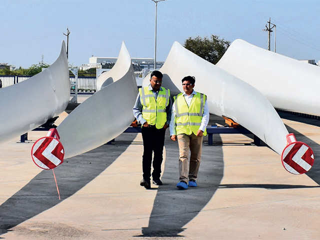 How Danish company Vestas built a Rs 500 crore blade factory near Ahmedabad in a record 15 months