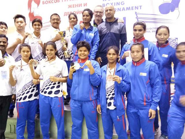 Indian women boxers win five more medals at 'Balkan' meet thumbnail