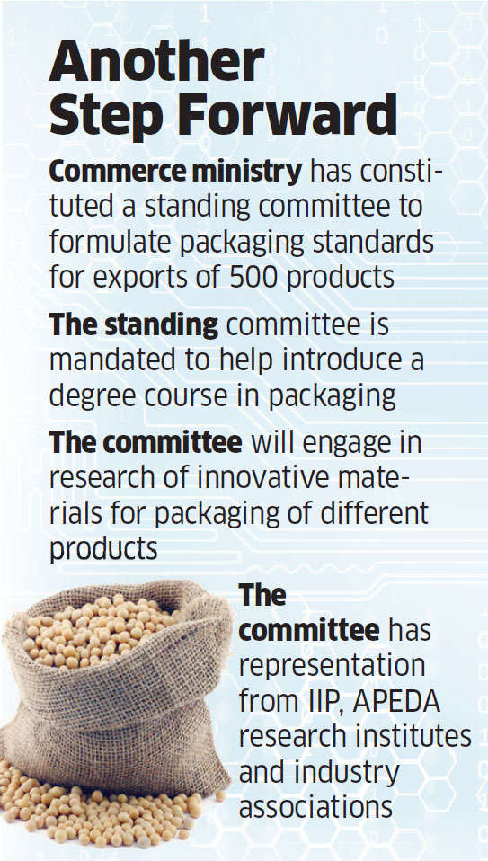 Government plans to set rules for food exports packaging