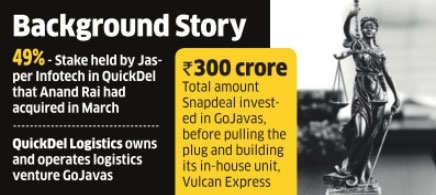 GoJavas' Anand Rai files fresh complaint against Jasper's Kunal Bahl, Rohit Bansal