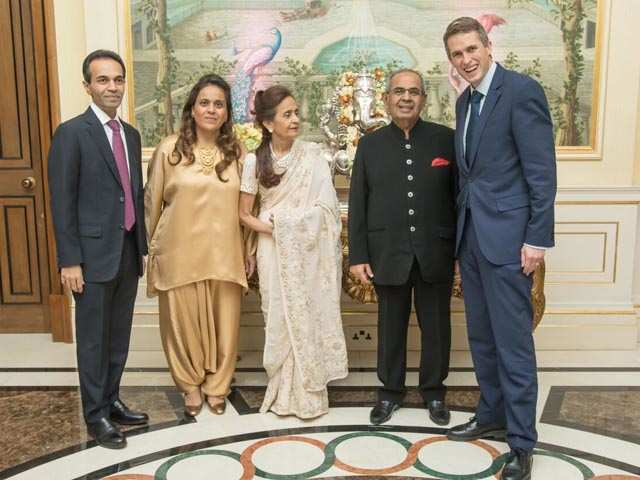 A party to remember! When the Ambanis added star power to Hindujas' Diwali bash