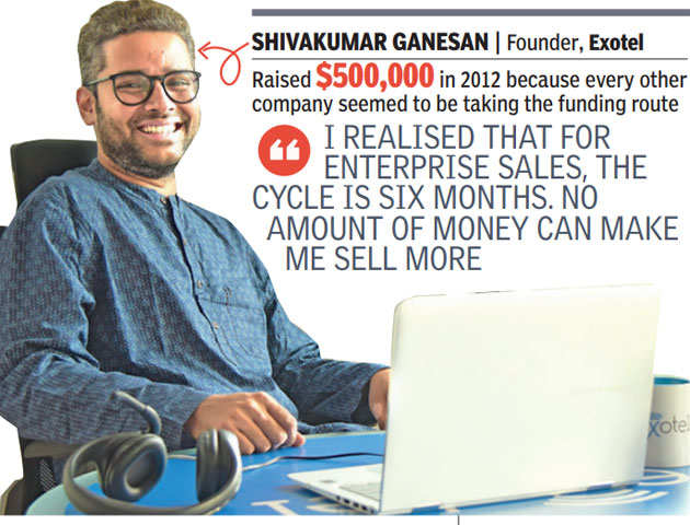 For these startups, less VC cash made more sense