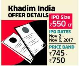 Khadim IPO: Cheap valuation, high-cost business