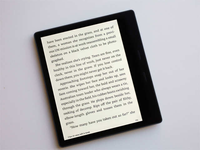 Good news for bookworms! Amazon introduces a waterproof Kindle Oasis with a seven-inch screen
