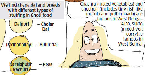 The 'chalk and cheese' cuisine of East and West Bengal