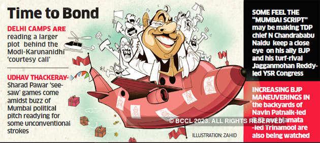 BJP starts nimble re-engineering attempts ahead of Lok Sabha polls