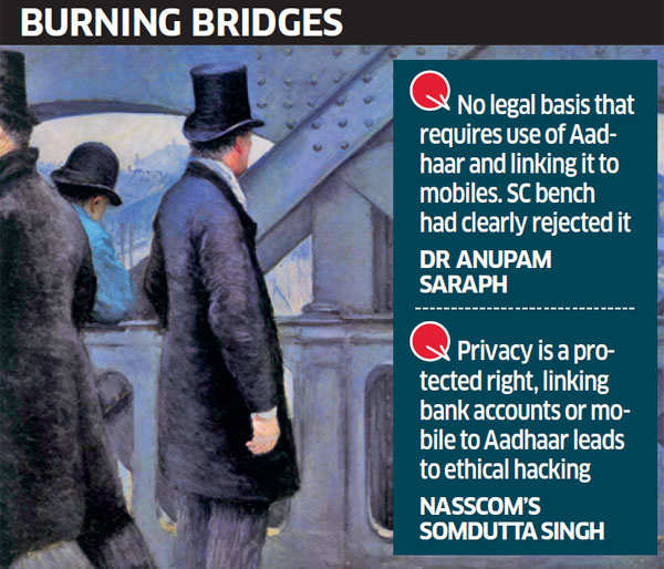 Linking Aadhaar to mobiles: Parties await Supreme Court's last word