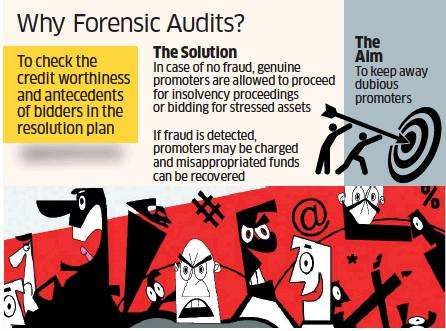 IPs do forensic audits to track bidders' agenda