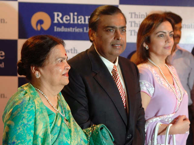 Ambanis on top, beat Lees of Samsung to become Asia's richest family