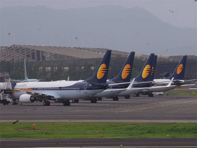 Jet Airways falls 5% on cost-cutting plans
