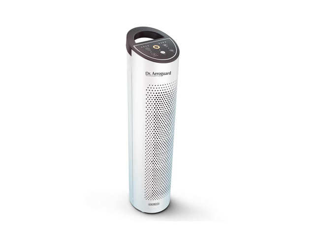 Say goodbye to pollution! The sleek air purifier from Sharp is perfect for your car