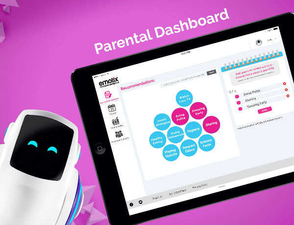 A robot as a child's companion? Emotix's Miko takes baby steps