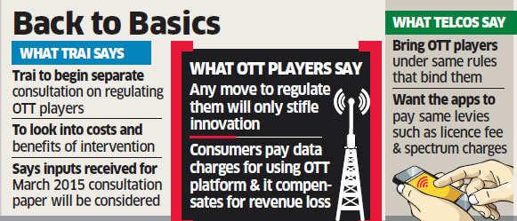 Trai to begin separate consultation on OTT regulation
