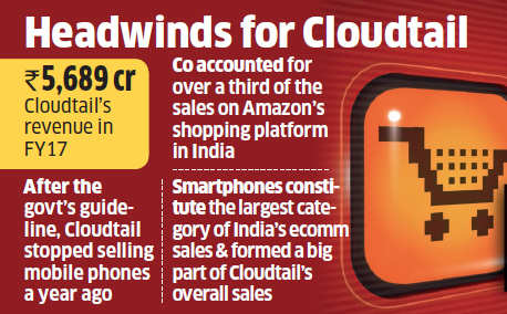 Strict FDI rules take a toll on Amazon's largest seller Cloudtail
