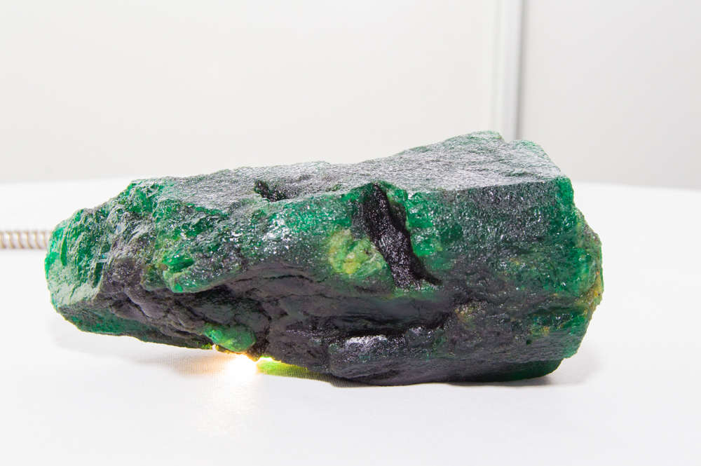 One of the world's largest mined emeralds wowed Diacolor's Rishabh Tongya - and he bought it