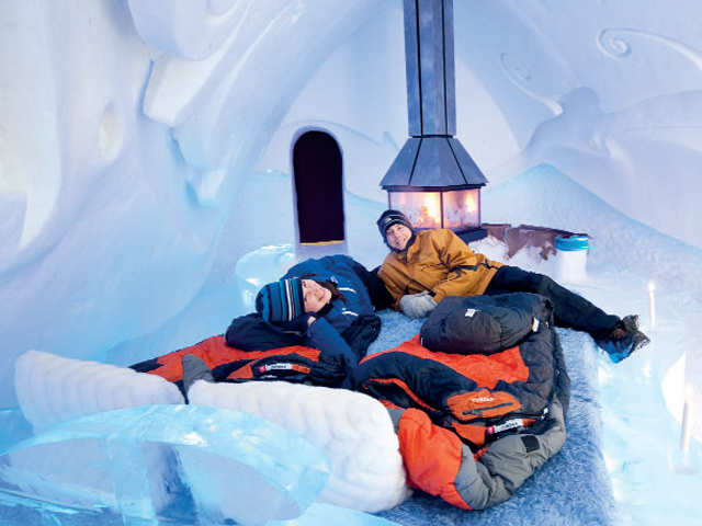 Adventures in the snow or relaxing in geothermal spas, Canada has it all