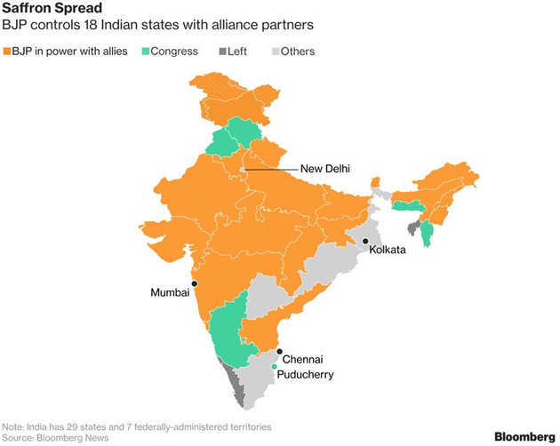 New battle looms in powerful states as PM Narendra Modi tightens grip