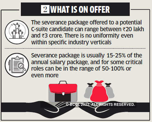 Jobs & career: How severance pay packages can be a deal-breaker
