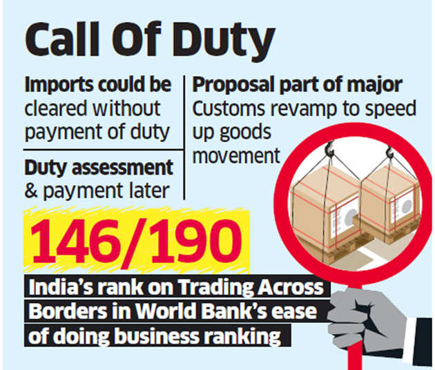 Soon, imported items may be released without upfront payment of duty