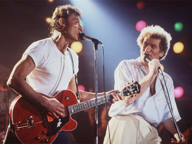 Johnny Hallyday rock icon known as French Elvis passes away at 74