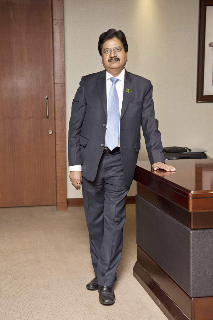 Can you guess how much Oriental Bank CEO Mukesh Kumar Jain earned in his first job?