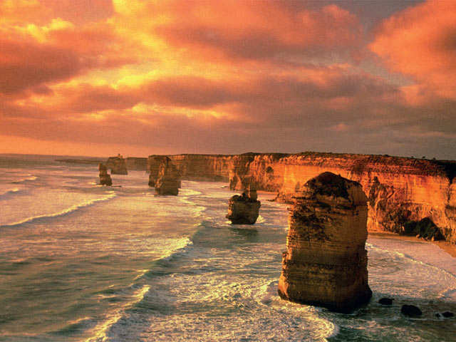 The world's top five destinations with a breathtaking sunrise