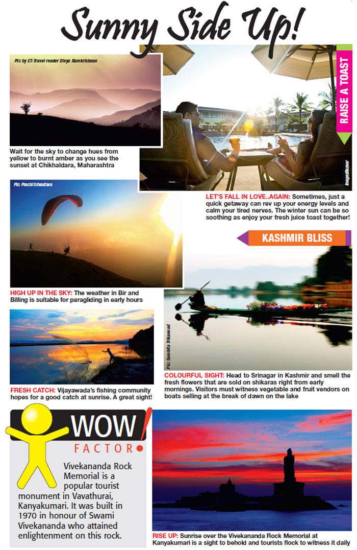 Usher new beginnings: Travel to the best sunrise points in India