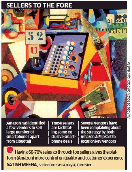 Amazon's wholesale focus pays, sales climb to Rs 7k crore