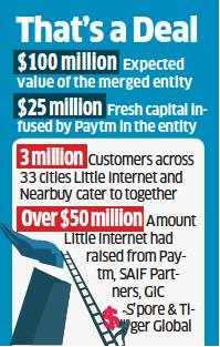 Nearbuy and Little Internet merge, Paytm gets majority stake