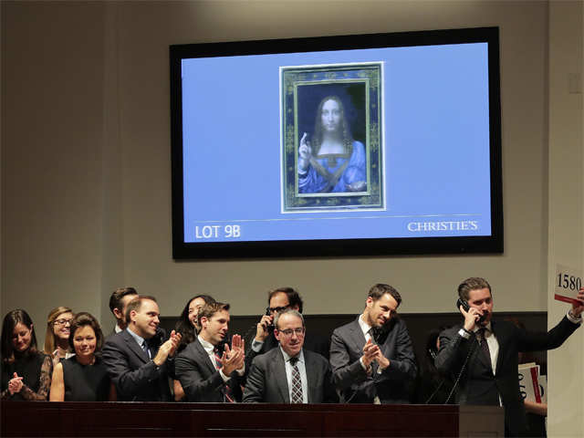 Leonardo da Vinci's 'Salvator Mundi' is coming to the Louvre Abu Dhabi