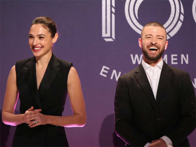 When a college freshman moved Gal Gadot, Justin Timberlake to tears