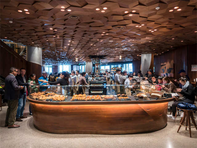 It's coffee o'clock! Starbucks opens their largest cafe in Shanghai