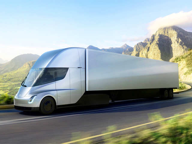 In a bid to go green makers of Budweiser reserve 40 Tesla Inc all-electric Semi trucks