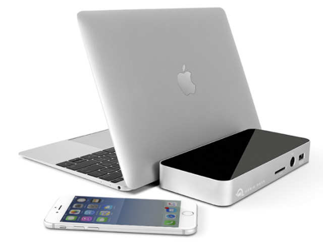 Here's the multi-purpose dock that gives you all your ports back plus charges your laptop