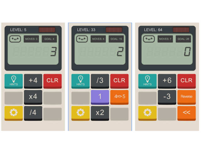 Test your math and logic skills with the 'Calculator'