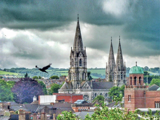 Cork: The 'rebel city' plays host to cathedrals and colourful pubs