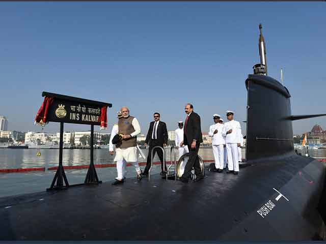 INS Kalvari submarine affirms Make in India's giant strides: MDL