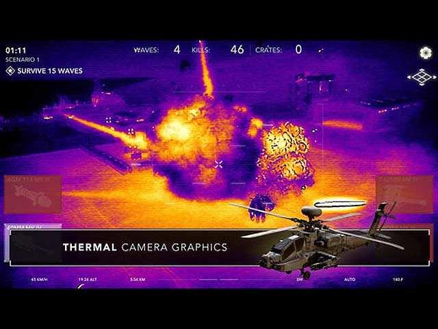 Zombie Gunship Revenant: An AR game for mindless fun