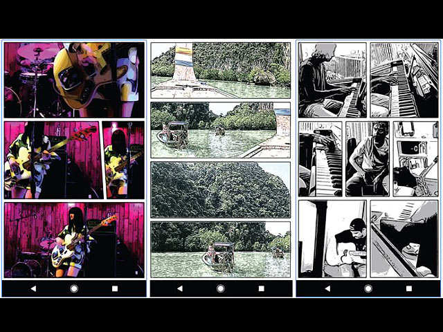 Turn your old videos into a comic book with Storyboard by Google Research