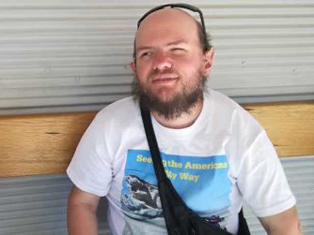 Meet Tony Giles, the visually impaired backpacker who has travelled to 125 countries