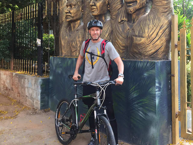 Strength, agility common factors driving business, fitness, says cycling fanatic and Randstad India CEO Paul Dupuis