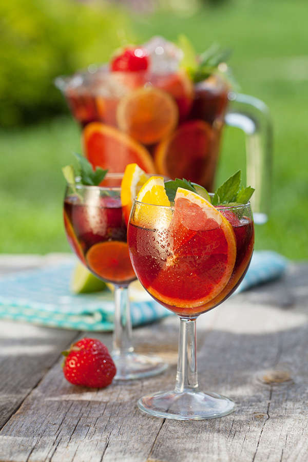 Not a fan of mulled wine? Here's a sangria recipe to add to your Christmas celebrations